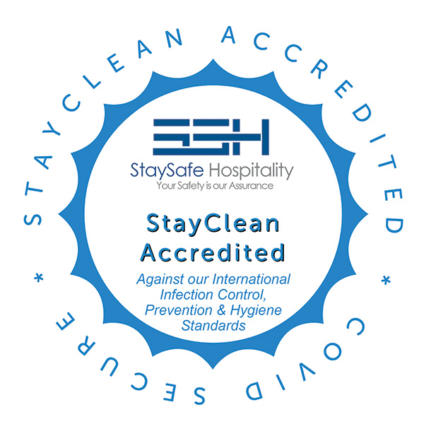 Staysafe Hospitality Stay Clean Accredited Facility