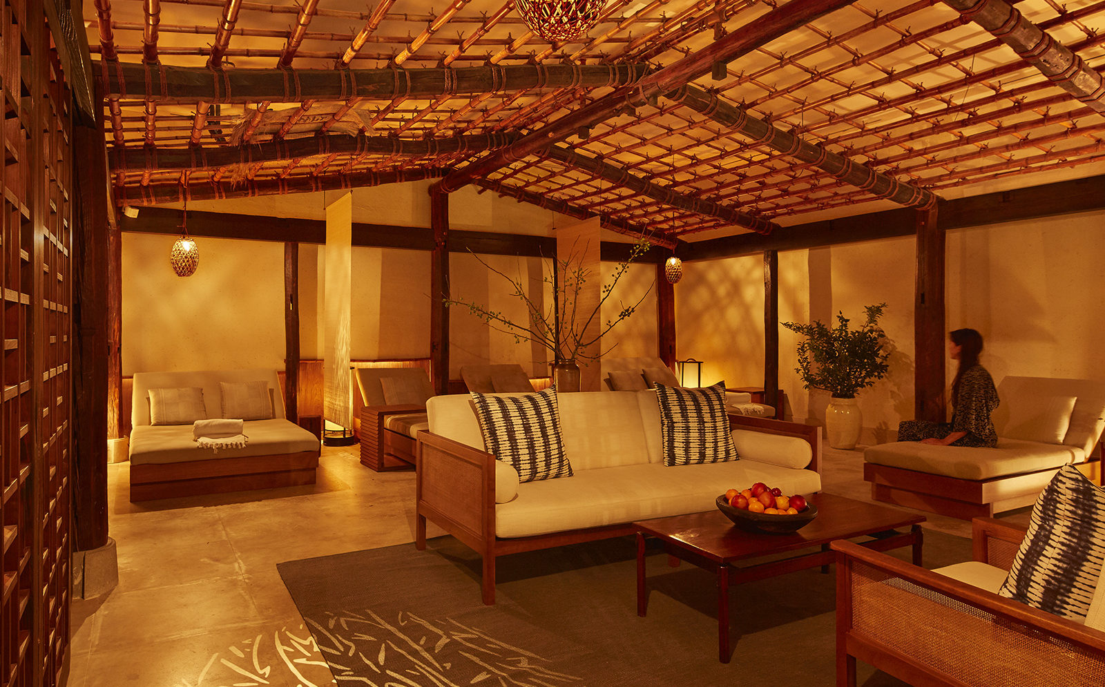 Shibui spa relaxation area at the Greenwich Hotel
