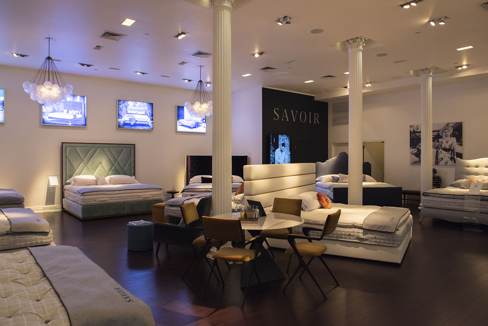 Savoir Beds at the greenwich hotel